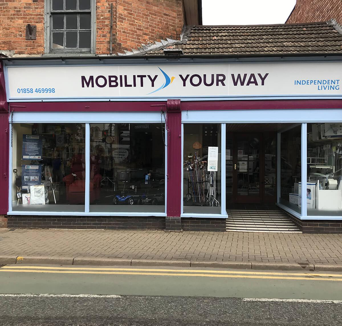 Market Harborough Mobility Your Way