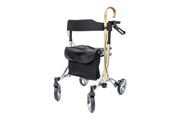 Rollators One Rehab Zoom with Walking Stick