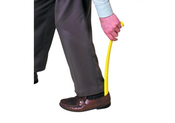Plastic Shoe Gorn with Hook